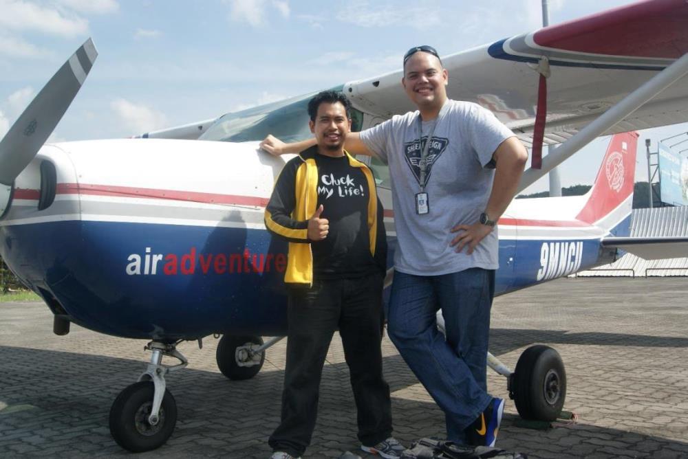 Co-Pilot JFK - Johan Farid Khairuddin