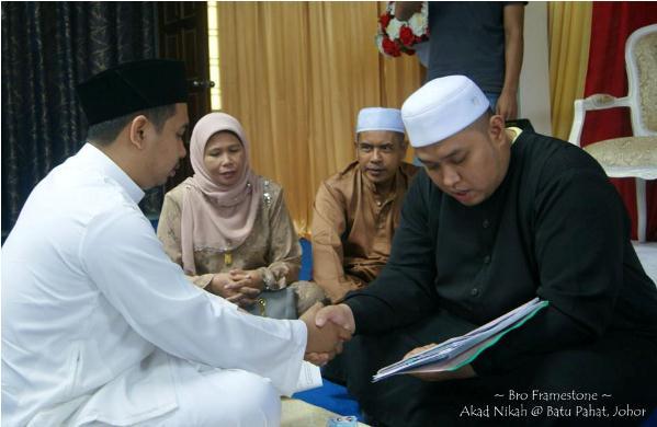 Iman Sazali Tok Kadi Nikah Broframestone 2