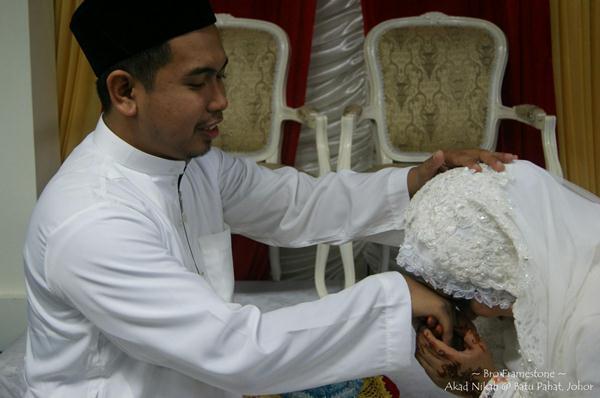 selepas akad nikah