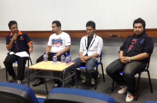 Talk jemputan UiTM Shah Alam