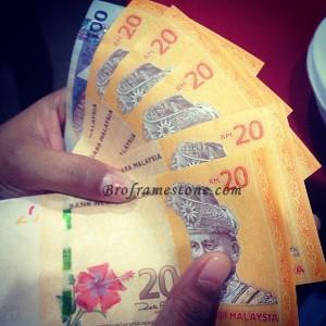 Duit Kertas RM20 Baru