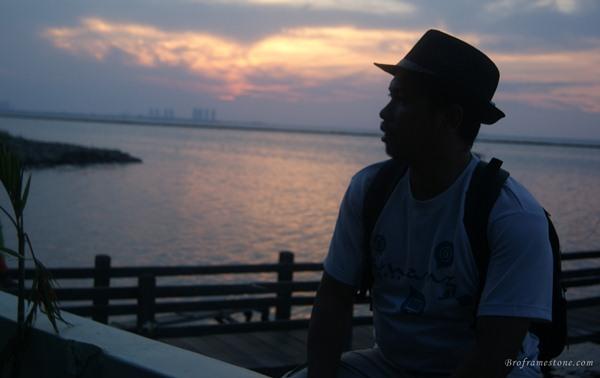 Matahari Terbenam Pantai Ancol