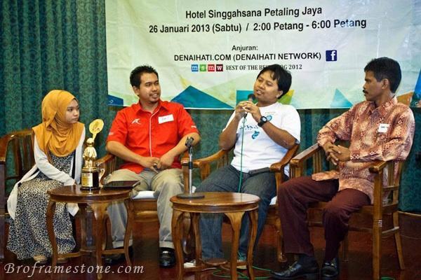 Mini Forum Sepetang Bersama Blogger Denai Hati