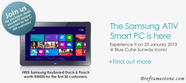 Samsung ATIV Smart PC Promo