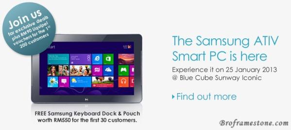 Samsung ATIV Smart PC Promo