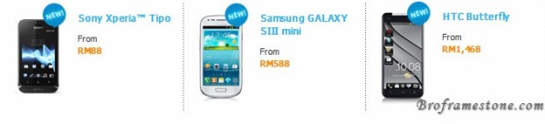smartphone from celcom first plan