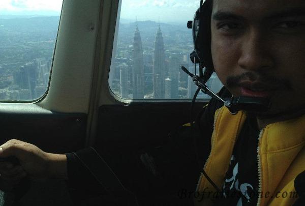 Pemandangan KLCC Dari Udara