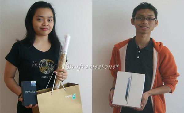 Blogger Menang iPad Samsung Galaxy S3