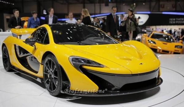 McLaren P1 launch