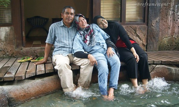 Private Jacuzzi Hot Spring Sungkai