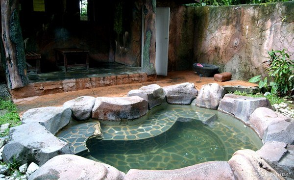 private jacuzzi hot spring