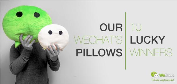10 pemenang bantal WeChat