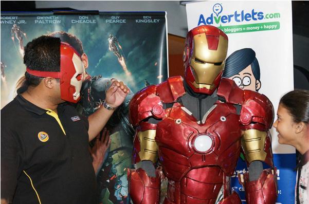 Advertlets Iron Man