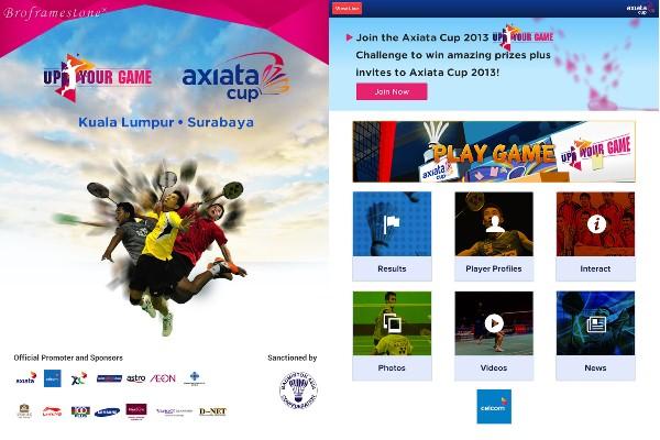 Axiata Cup 2013 Game