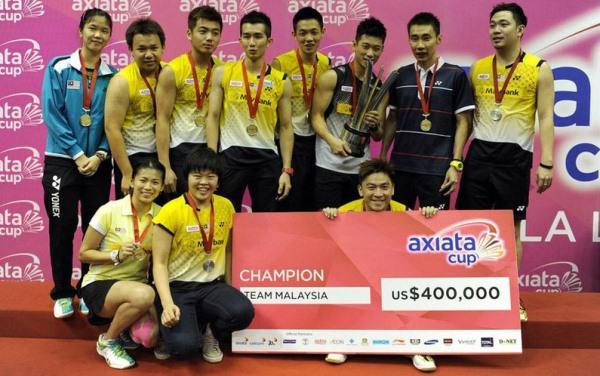 Team Malaysia Axiata Cup 2013