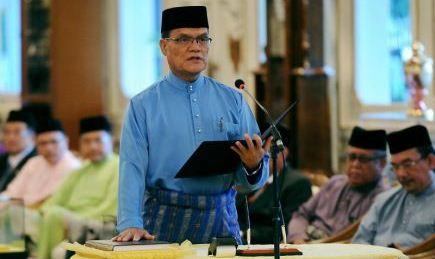 Datuk Seri Adnan Yaakob MB Pahang