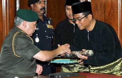 Datuk Seri Mohamed Khaled Nordin MB Johor