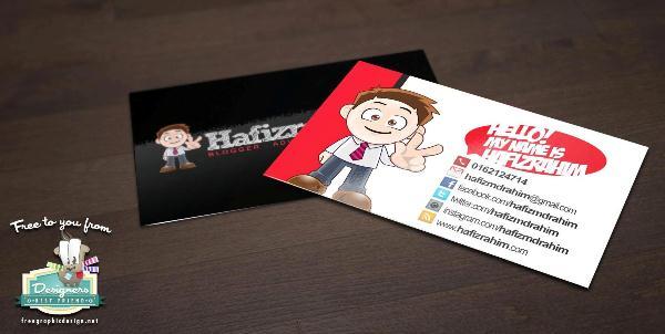 Hafiz Rahim Namecard Blogger