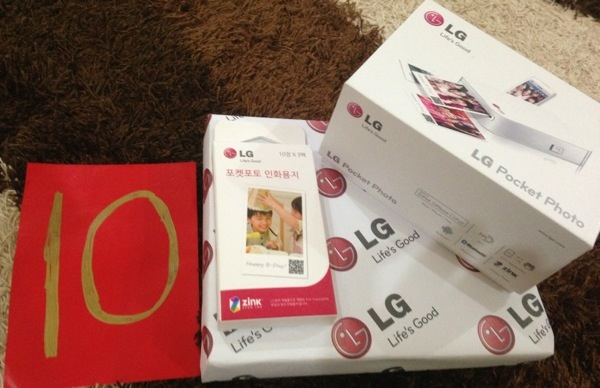 Prize From LG Malaysia