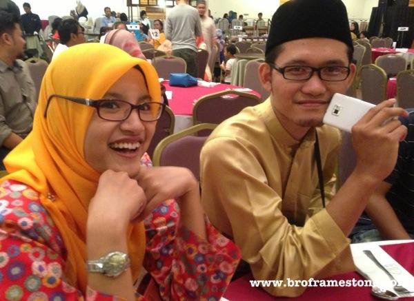 Ainaa Roseberry & Syukri Tahir