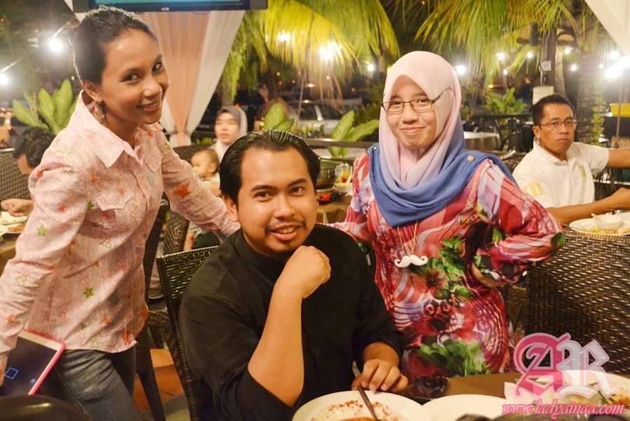 Iftar Bersama Blogger Anak Dara Di Restoran Tupai Tupai Shah Alam
