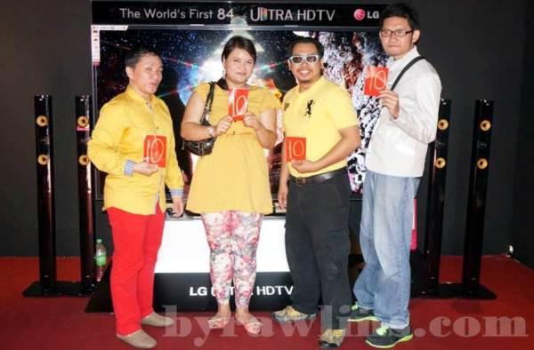 top blogger LG Fiesta 2013