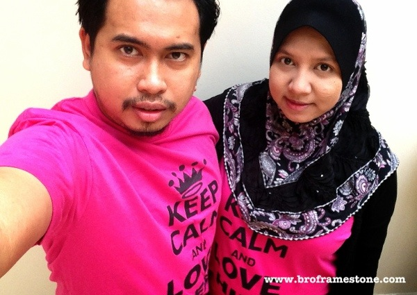 Couple T-Shirt Suami Isteri