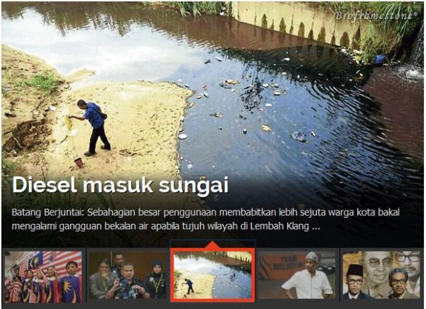 Punca Air Tiada Area Lembah Klang