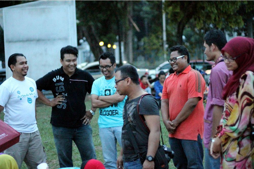 blogger coffee talk iftar