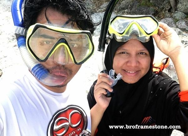 Snorkeling Suami Isteri