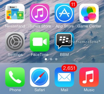 BlackBerry Messenger Bagi Pengguna iPhone