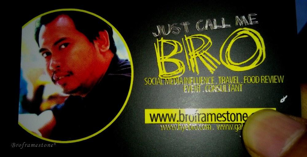 Just call me broframestone!