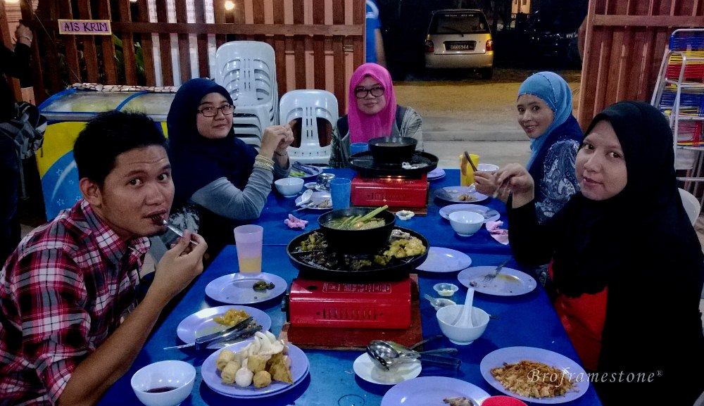 Kampung Garden BBQ Steamboat Food Blogger