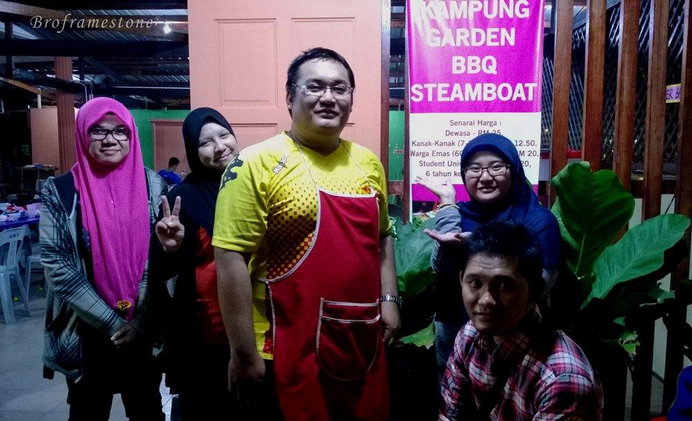 Kampung Garden BBQ Steamboat Owner
