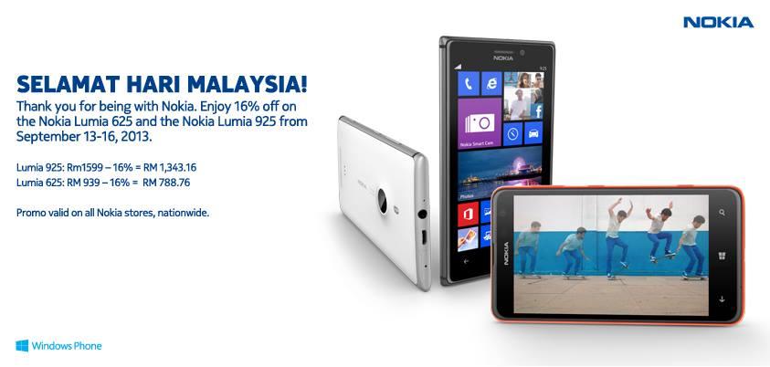 nokia lumia 925 & nokia lumia 625