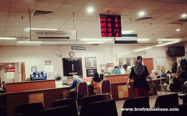 Temujanji Terakhir Di Klinik Obstetrik Dan Ginekologi HUKM