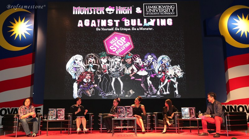 Monster High™ & Limkokwing Against Bullying Panel
