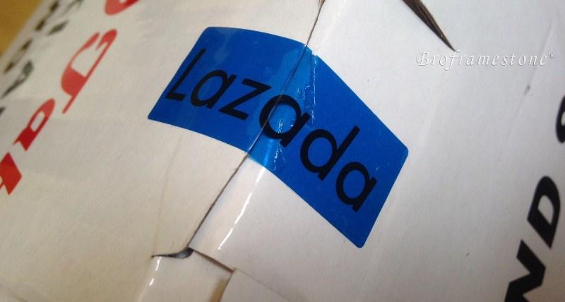 Sticker Lazada