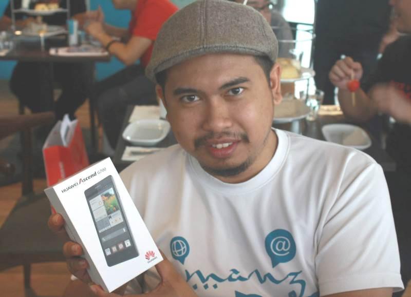 Bro Framestone Menang Huawei Ascend G700
