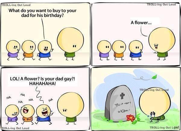 Think before you speak..