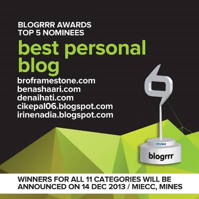Blogrrr Awards Best Personal Blog