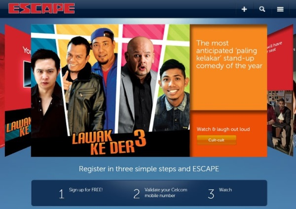 Escape Lawak Ke Der 3