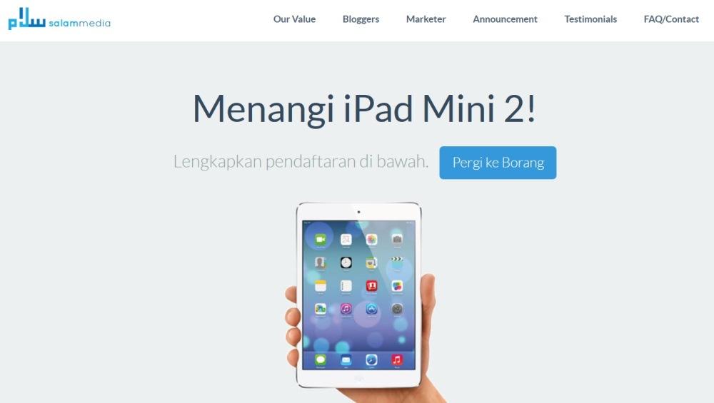 Salam Media - Menangi iPad Mini 2