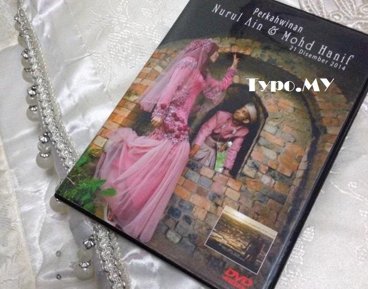 Typo - Tarikh Album Kahwin Awal Setahun