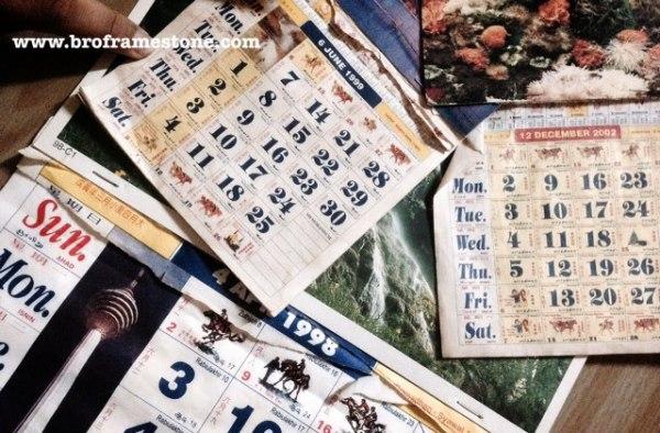 koleksi kalender kuda