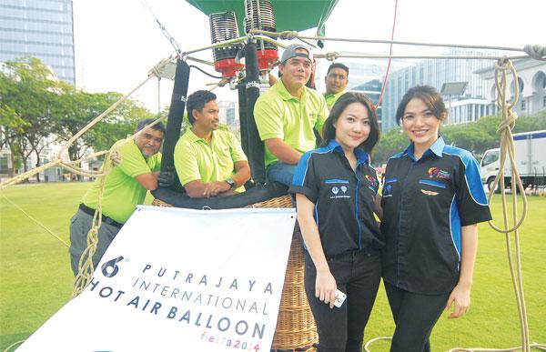 Belon Udara Panas Putrajaya