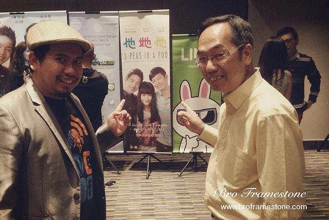 Bersama David Teo Dan Metrowealth