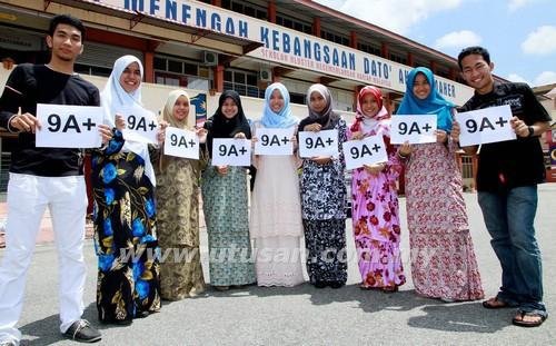 Sekolah Menengah Kebangsaan Dato' Ahmad Maher diumumkan sebagai pelajar terbaik Kelantan dalam Sijil Pelajaran Malaysia (SPM) 2012