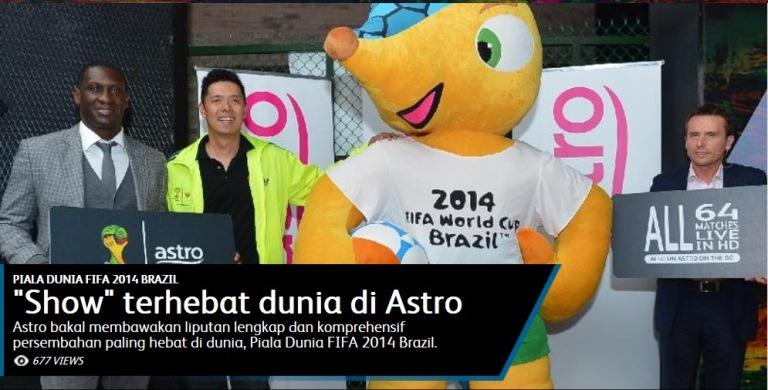 FIFA 2014 - Tayangan Terhebat Astro