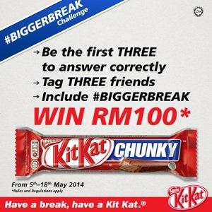Cabaran BiggerBreak KitKat Malaysia